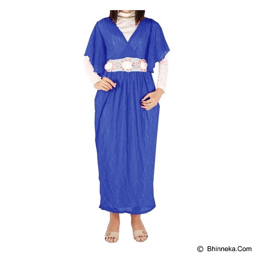 IYESH Maxi [HEMM6061 - 6061] - Blue (Merchant) - Gamis Wanita