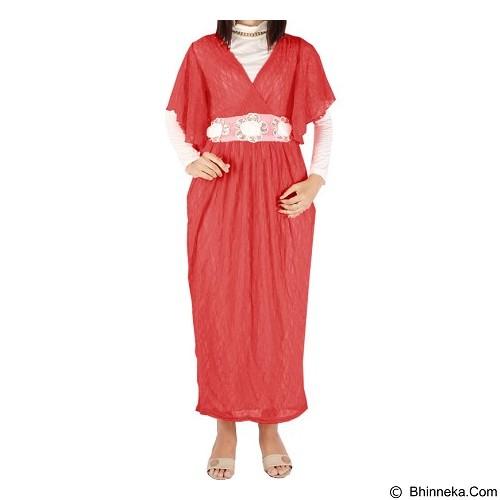 IYESH Maxi [HEMM6061 - 6061] - Red (Merchant) - Gamis Wanita