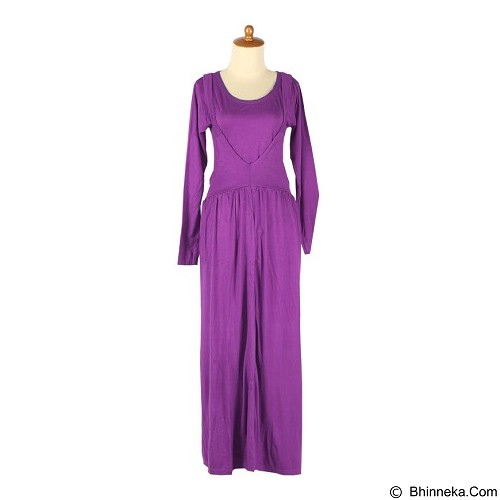 IYESH Maxi [HENK0014 - 0014] - Soft Purple (Merchant) - Maxi Dress Wanita