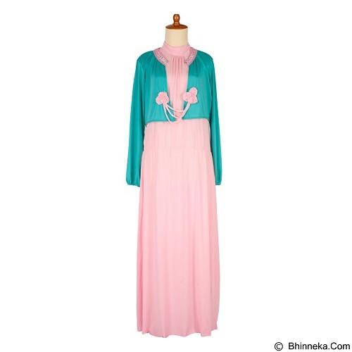 IYESH Maxi [HENK0043-0043] - Pink (Merchant) - Gamis Wanita
