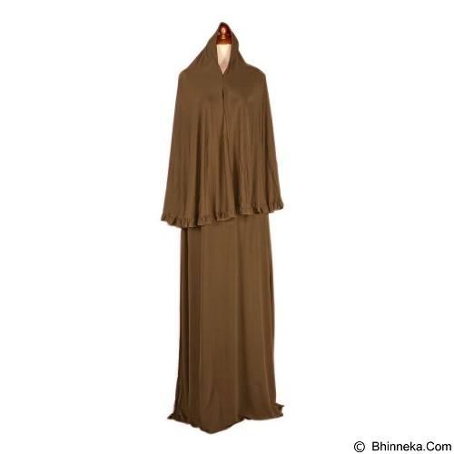 IYESH Maxi Jamillah Bergo [HEIN3908 - 023908] - Brown (Merchant) - Gamis Wanita