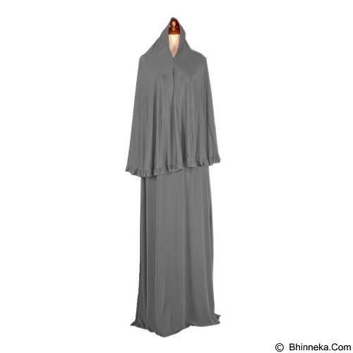 IYESH Maxi Jamillah Bergo [HEIN3908 - 023908] - Grey (Merchant) - Gamis Wanita