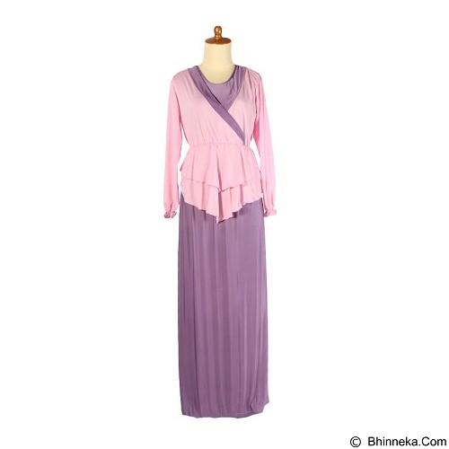 IYESH Maxi Marlyn [HENN0986- 90986] - Purple (Merchant) - Gamis Wanita