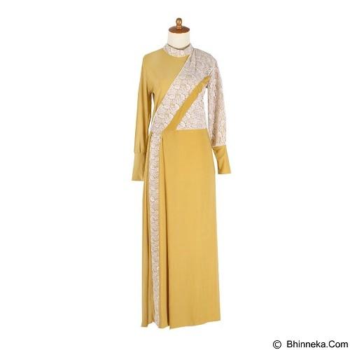 IYESH Maxi Paris [HENK0016 - 0016] - Yellow (Merchant) - Gamis Wanita