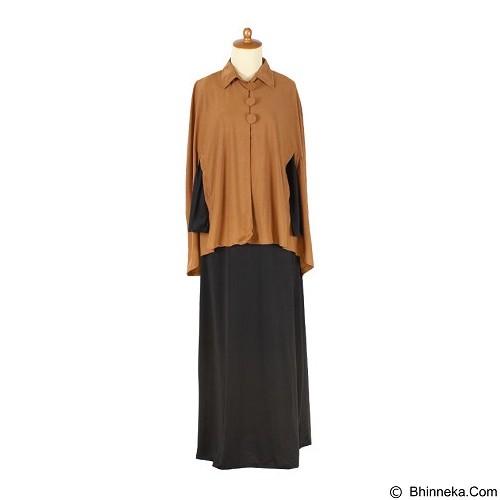 IYESH Maxi Poncho [HEDB0535 - 270535] - Brown (Merchant) - Gamis Wanita