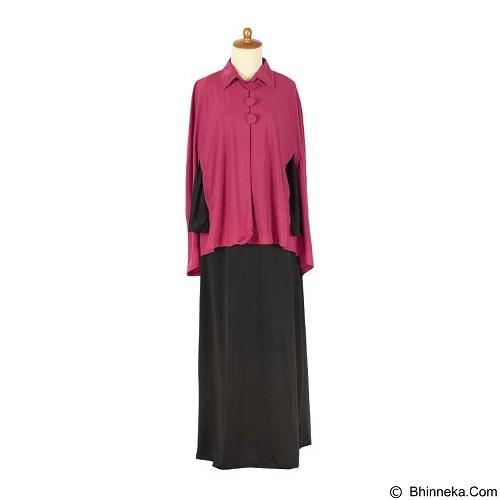 IYESH Maxi Poncho [HEDB0535 - 270535] - Pink (Merchant) - Gamis Wanita