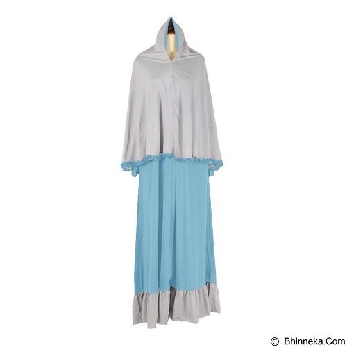 IYESH Maxi Princessa Bergo [IYNN1935 - 1935] - Blue (Merchant) - Gamis Wanita