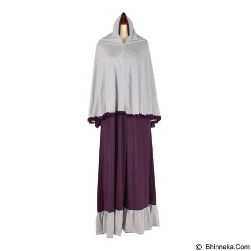 IYESH Maxi Princessa Bergo [IYNN1935 - 1935] - Purple (Merchant) - Gamis Wanita