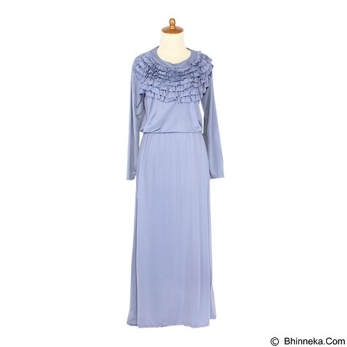 IYESH Maxi Rebecca [HENK0023 - 0023] - Blue (Merchant) - Maxi Dress Wanita