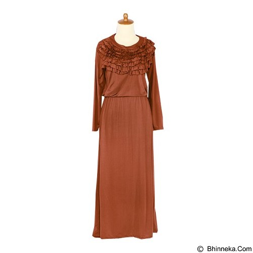 IYESH Maxi Rebecca [HENK0023 - 0023] - Orange (Merchant) - Maxi Dress Wanita