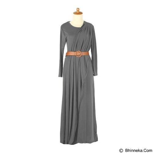 IYESH Maxi Rosalinda [HENN0086 - 086] - Grey (Merchant) - Gamis Wanita