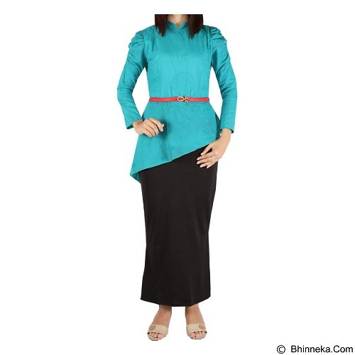 IYESH Maxi Yunani [HEMM1420 - 1420] - Black (Merchant) - Maxi Dress Wanita