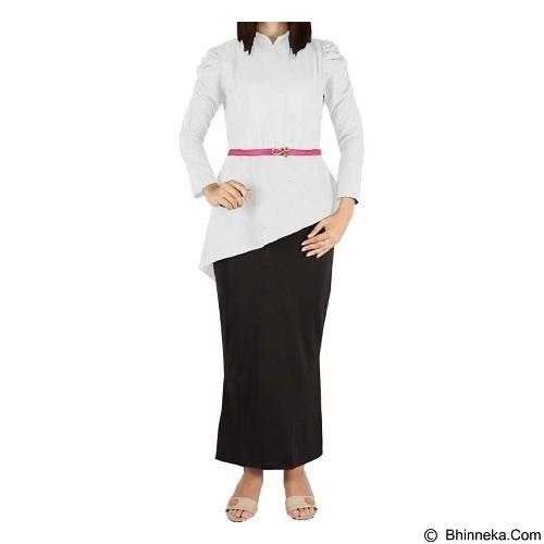 IYESH Maxi Yunani [HEMM1420 - 1420] - White (Merchant) - Maxi Dress Wanita