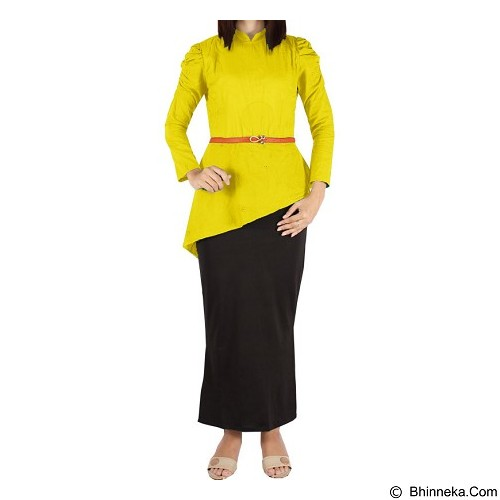 IYESH Maxi Yunani [HEMM1420 - 1420] - Yellow (Merchant) - Maxi Dress Wanita