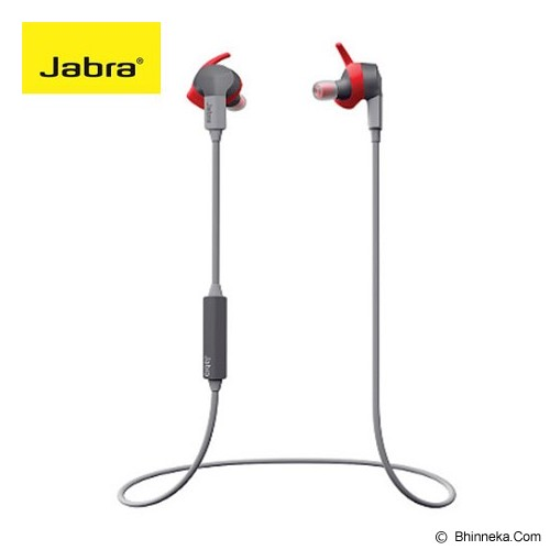 JABRA Sport Coach Wireless Headset Bluetooth - Red - Headset Bluetooth