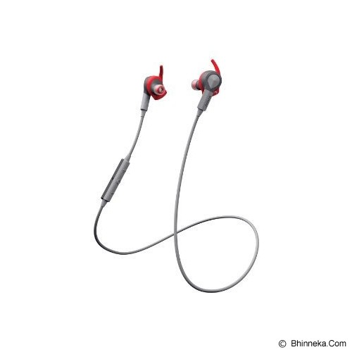 JABRA Sport Coach Wireless Headset Bluetooth - Red - Headset Bluetooth