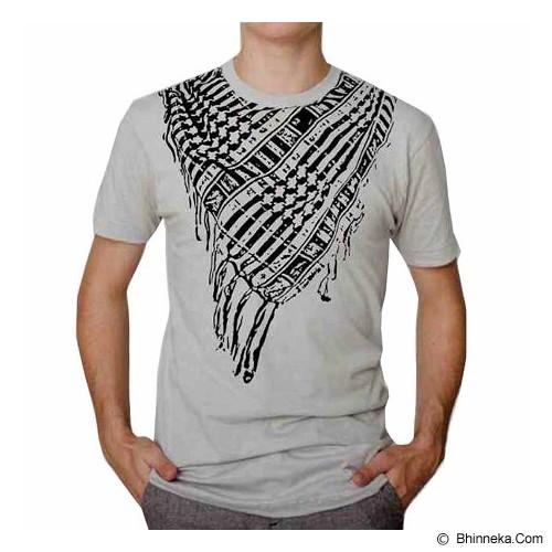 JACKDOW Kaos Distro Motif Sorban Size XL [SORBAN] - White - Kaos Pria