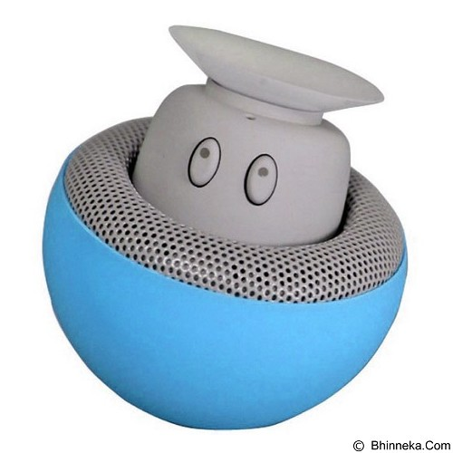 JADDA Portable Small Mushroom Style Mini Bluetooth Speaker - Blue (Merchant) - Speaker Bluetooth & Wireless