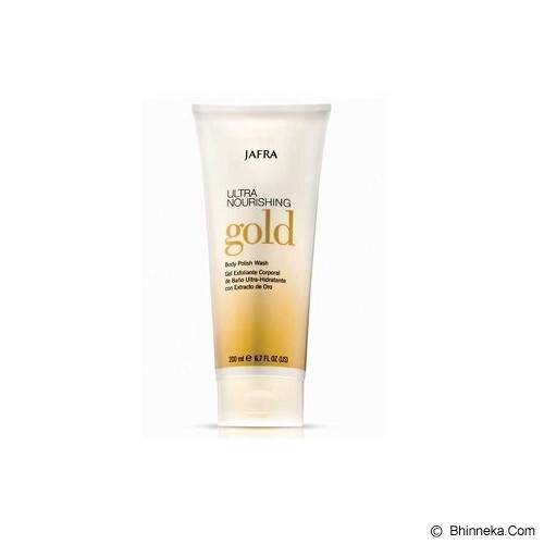 JAFRA Ultra Nourishing Gold Body Polish Wash - Sabun Mandi