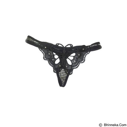 JAKARTA LINGERIE Gstring Butterfly [JLG036] - Black (Merchant) - Lingerie