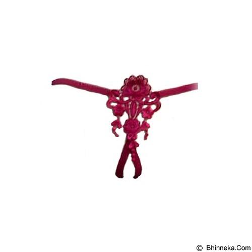 JAKARTA LINGERIE Gstring Open Crotch Sexy [JLG043] - Pink (Merchant) - Lingerie