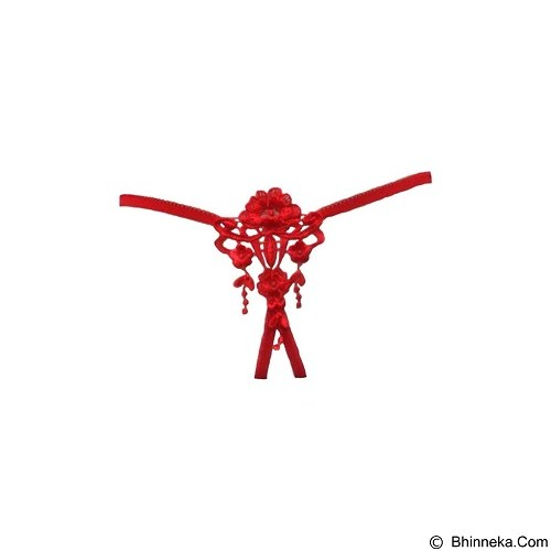 JAKARTA LINGERIE Gstring Open Crotch Sexy [JLG043C] - Red (Merchant) - Lingerie