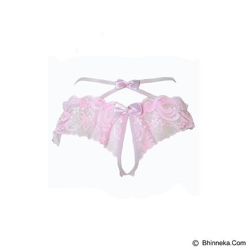 JAKARTA LINGERIE Gstring  X-Sexy Open Crotch [JLG090C] - Pink (Merchant) - Lingerie