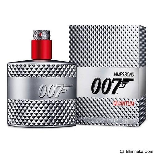 JAMES BOND 007 Quantum For Men EDT 125 ml (Merchant) - Eau De Toilette untuk Pria