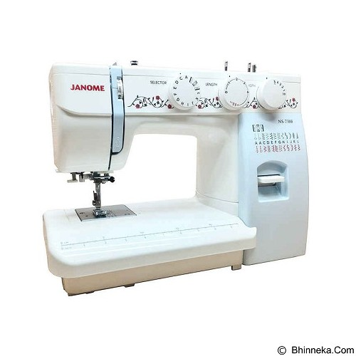 JANOME Mesin Jahit Portable Multifungsi [NS 7388] (Merchant)