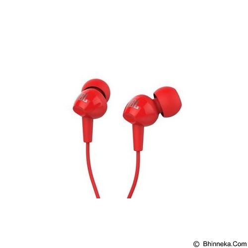 JBL In Ear Headphone [C100SI] - Red (Merchant) - Earphone Ear Monitor / Iem