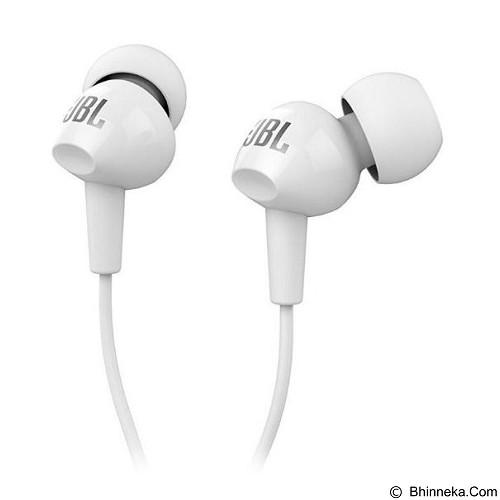 JBL In Ear Headphone [C100SI] - White (Merchant) - Earphone Ear Monitor / Iem