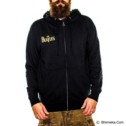 JERSICLOTHING Jaket Hoodie The Beatles Size XXL - Black - Jaket Casual Pria
