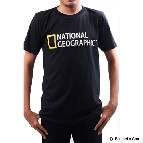JERSICLOTHING T-Shirt National Geographic 01 Velvet Print Size M - Black - Kaos Pria