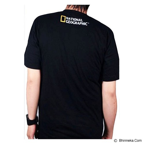 JERSICLOTHING T-Shirt National Geographic Size S - Black - Kaos Pria