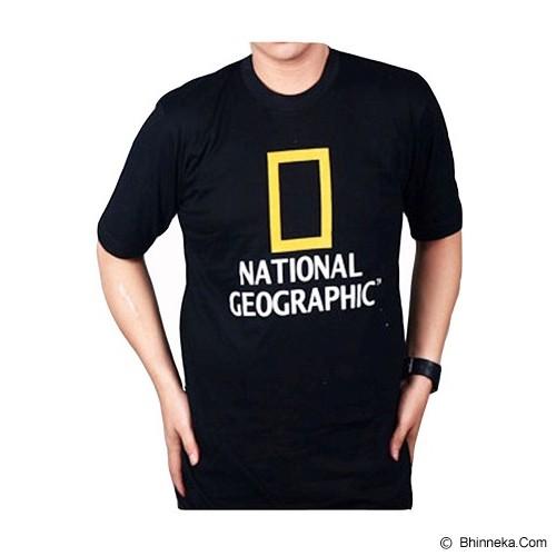 JERSICLOTHING T-Shirt National Geographic Size XXL - Black - Kaos Pria