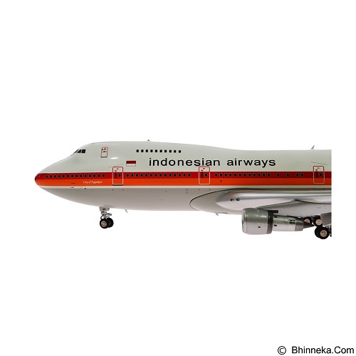 JFOX Garuda Indonesian Airways B747-200 [JF-747-2-002] (Merchant) - Die Cast