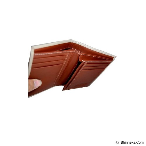 JFR MEN Wallet [J-33] - Brown Cream - Dompet Pria