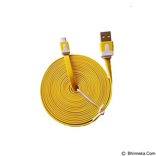 JMXSTORE Kabel Micro USB [KBL3MK] - Yellow - Cable / Connector Usb