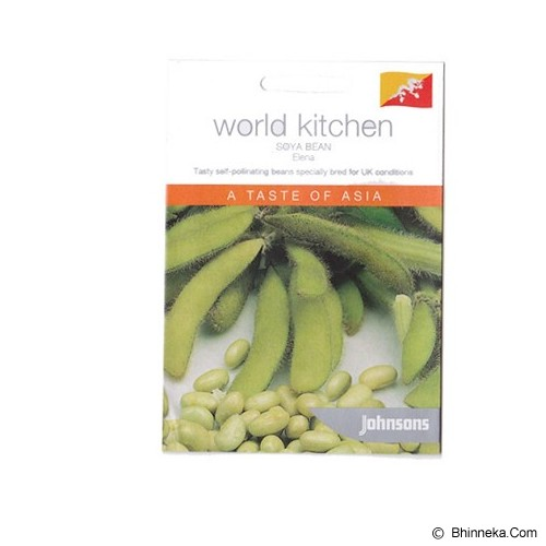 JOHNSONS SEED Soya Bean Elena - Bibit / Benih Sayuran