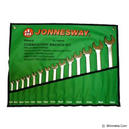 JONNESWAY Combination Wrench Set SAE 14Pcs [W26114S] - Kunci Kombinasi