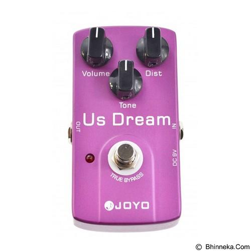 JOYO Guitar Effect US Dream Distortion [JF-34] - Gitar Stompbox Effect