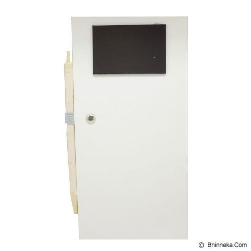 JOYTOP Magnetic Shopping List Memo [5348] - Brown (V) - Buku Catatan / Journal