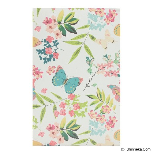 JOYTOP Notebook Summer Flowers [5349] - White (V) - Buku Catatan / Journal