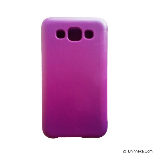 JTP Flip Cover for Samsung Galaxy E5 - Purple - Casing Handphone / Case