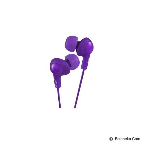 JVC HA-FX5 Gumy Plus Earphones - Purple - Earphone Ear Monitor / Iem