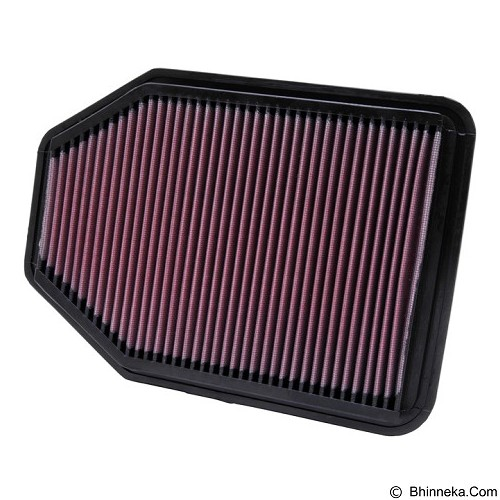 K&N Filter Udara Jeep Wrangler 2007-2013 (Merchant) - Penyaring Udara Mobil / Air Filter