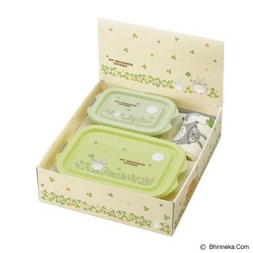 KADOUNIK Studio Ghibli My Neighbor Totoro Lunch Box and Hand Towel Set Clover - Lunch Box / Kotak Makan / Rantang