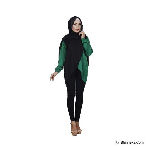 KAMEELA MUSLIM Attaya Blouse - Green - Blouse dan Tunik Wanita