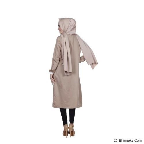 KAMEELA MUSLIM Rafa Tunik Off - Brown - Blouse dan Tunik Wanita