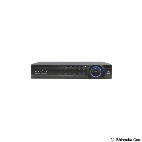KANA Tribrid DVR 4 Channel [HVR2504BZ] - Cctv Accessory